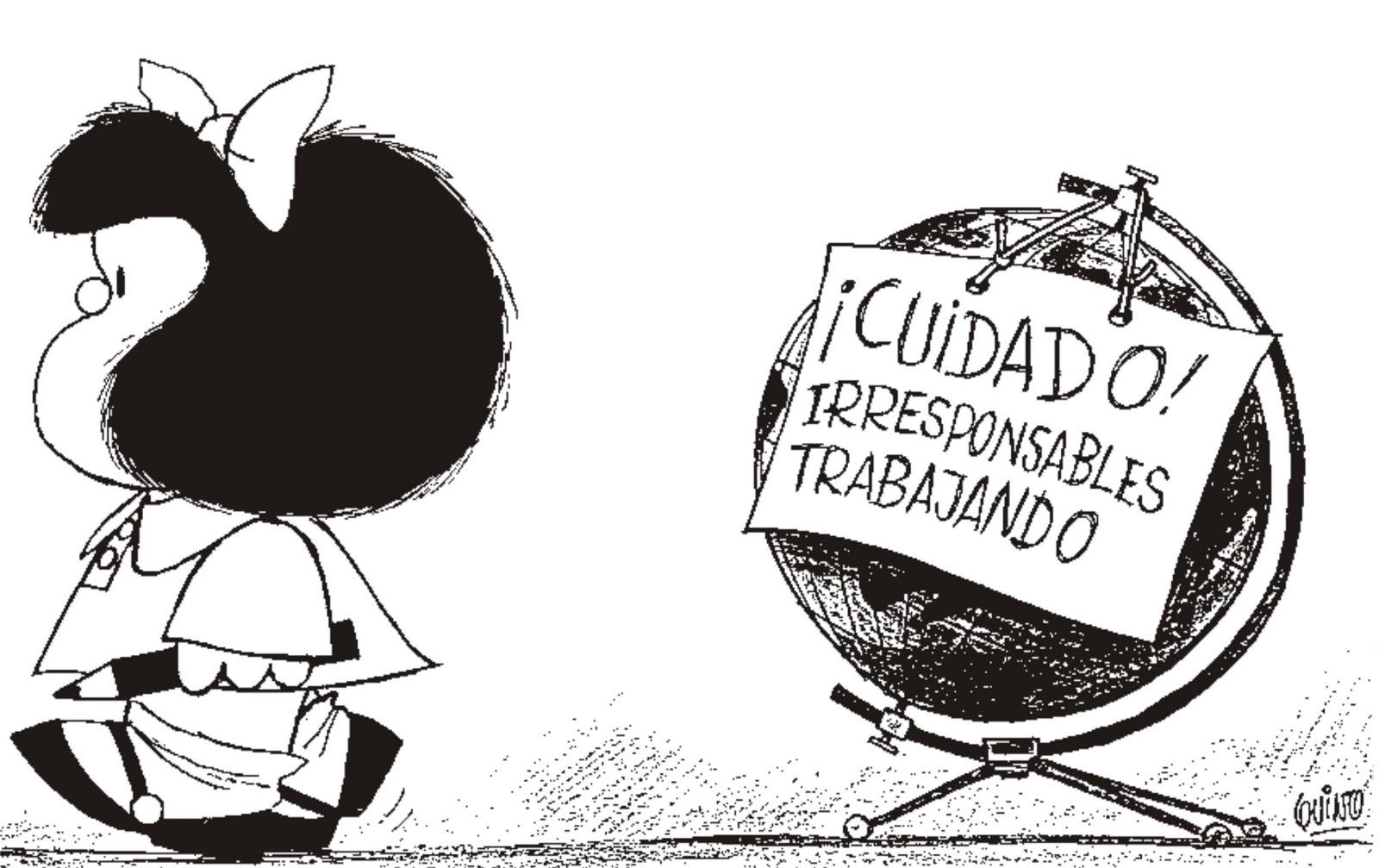 17 viñetas de Mafalda que nos vienen al pelo para la jornada de reflexión