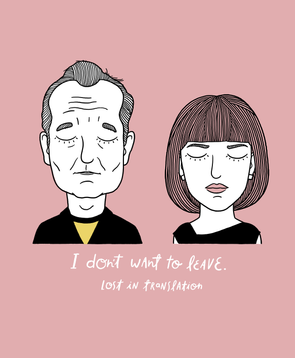 Bob y Charlotte ('Lost in translation')